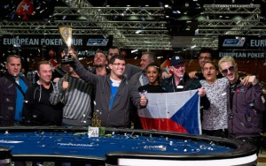 Leon Tsoukernik - EPT 13 Prague €50,000 Super High Roller Winner