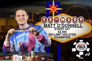 Matt O'Donnell_WSOP_2015