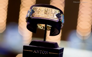 Aussie Millions Main Event Winner Bracelet