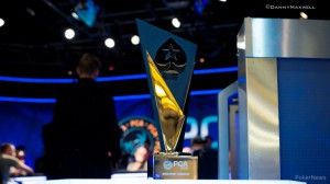 PCA 2015 Main Event Winner Trophy