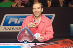 Победитель RPT Main Event – Виталий Лункин.
