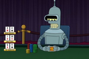 robot-play-poker
